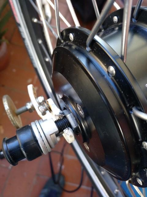 """Motor para Rueda delantera de 20"""" Dahon5"""